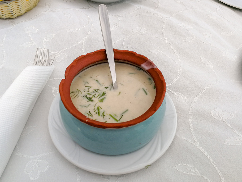 Mussels soup