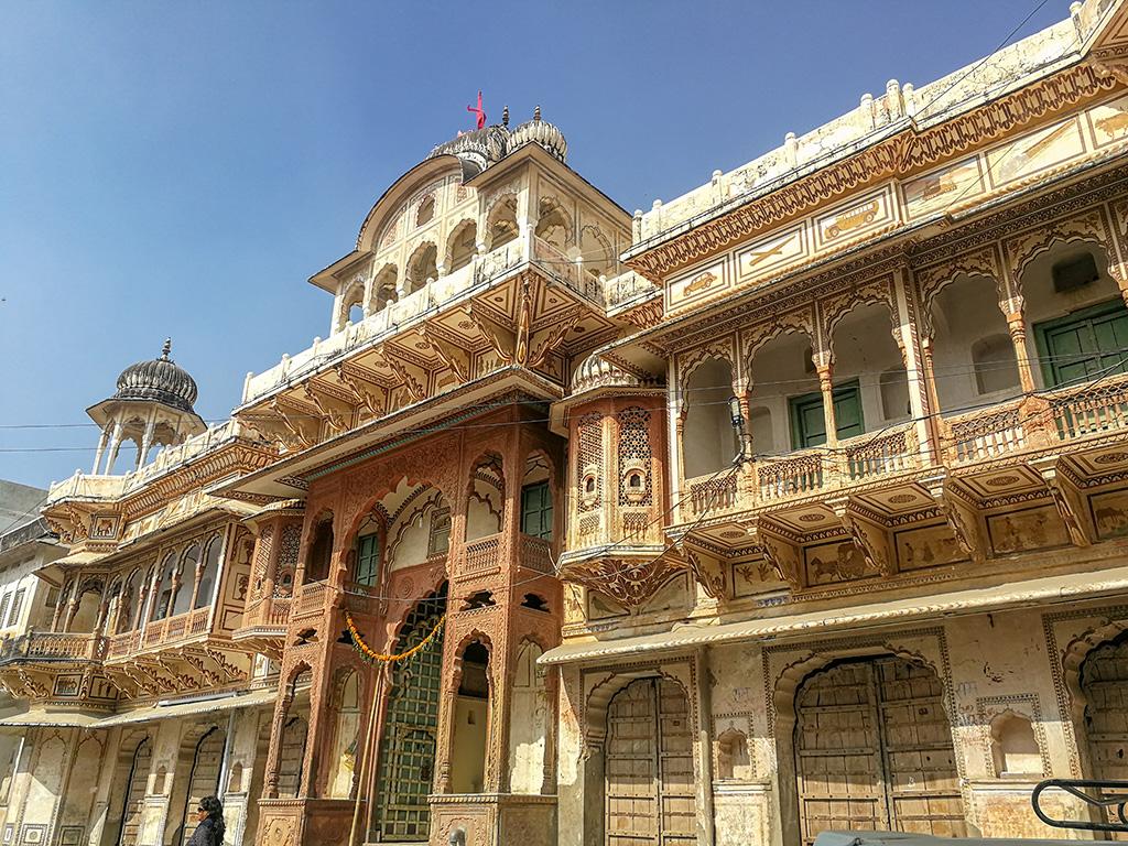 Hindu Temple in Pushkar