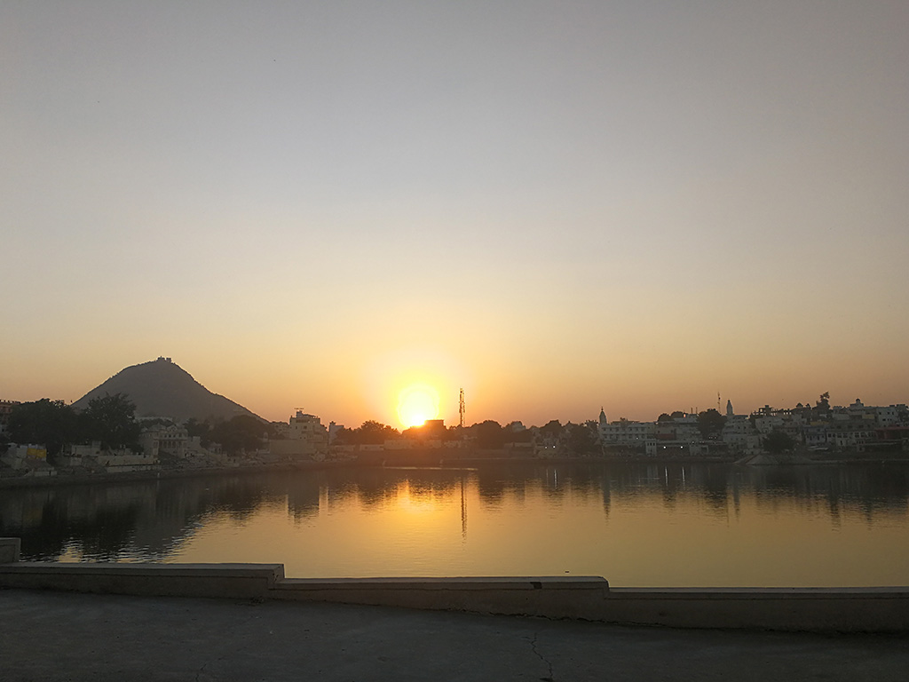 Sunset place Pushkar