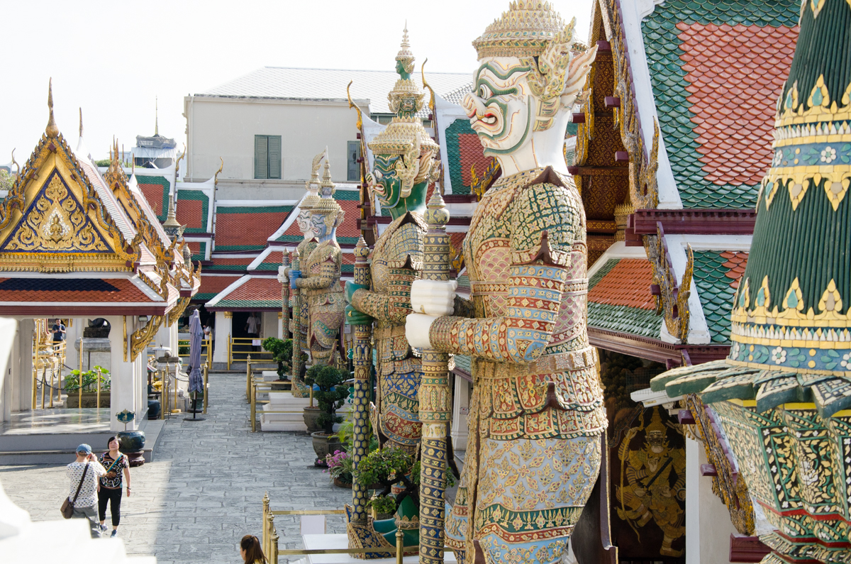 Grand Palace + Temple of the Emerald Buddha