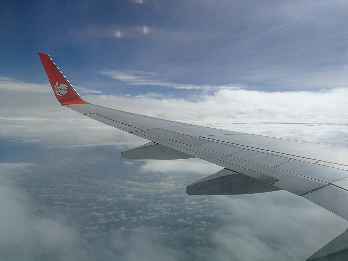 Thai Lion Air Flight