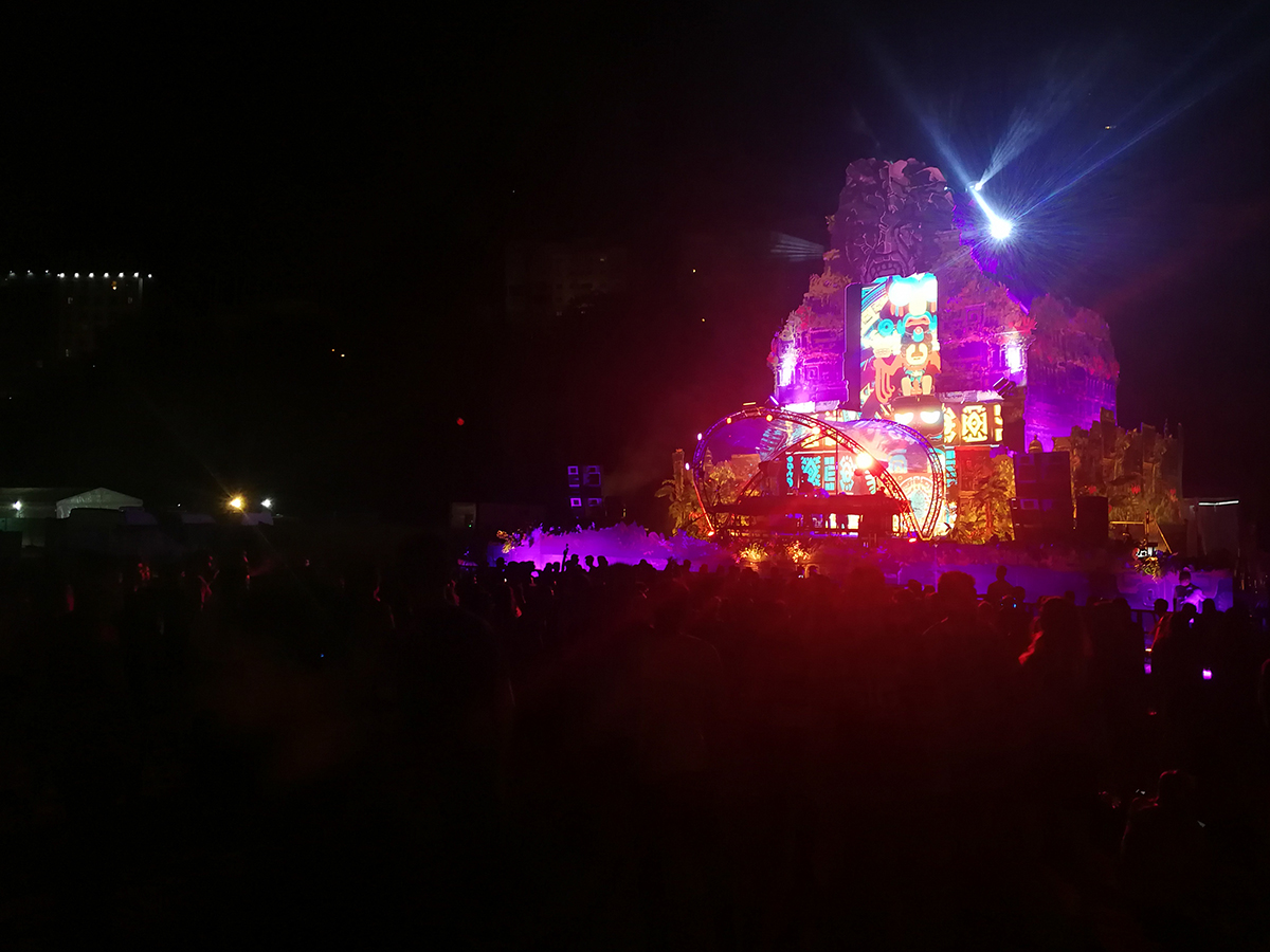 Temple Stage Neversea