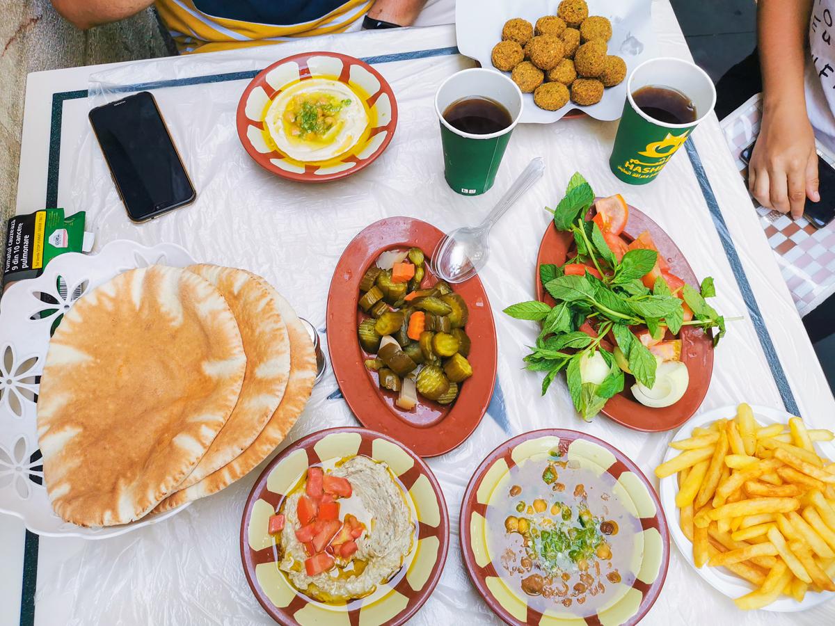 Hummus, Moutabel & Falafel
