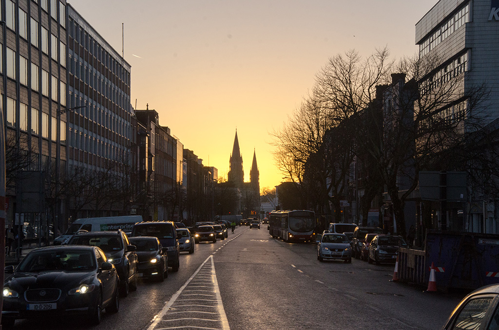 Sunset in Cork
