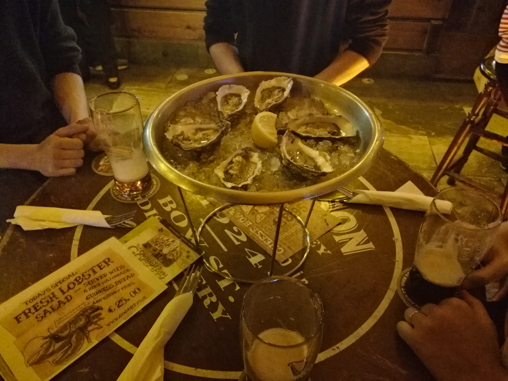Oysters - Temple Bar