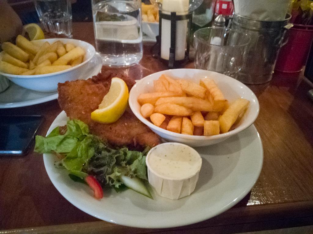 Fish and Chips - Joe Watty's Bar and Restaurant