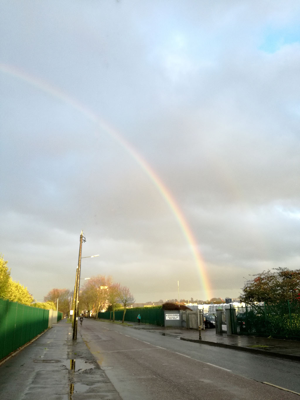 Rainbow in Cork