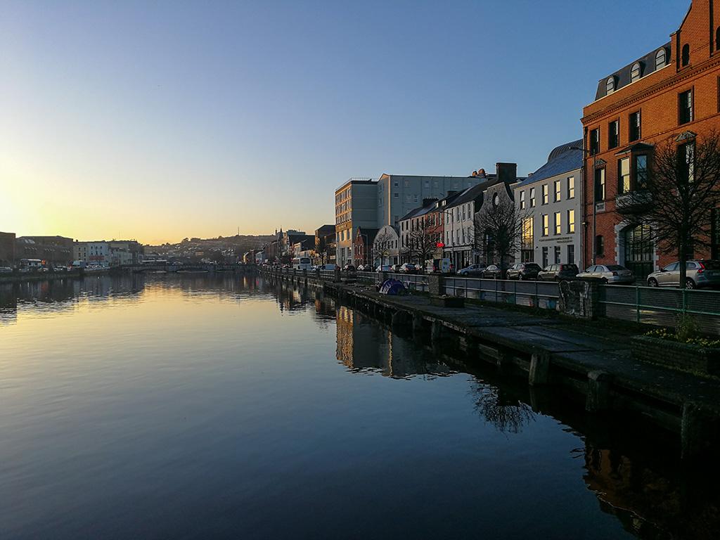 Sunset in Cork
