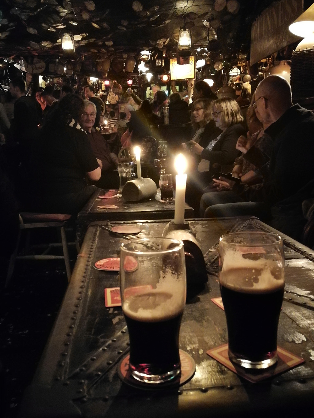 Guinness in Galway - O'Connell's Bar