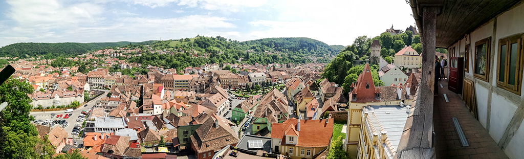 Sighisoara from The Clock Tower