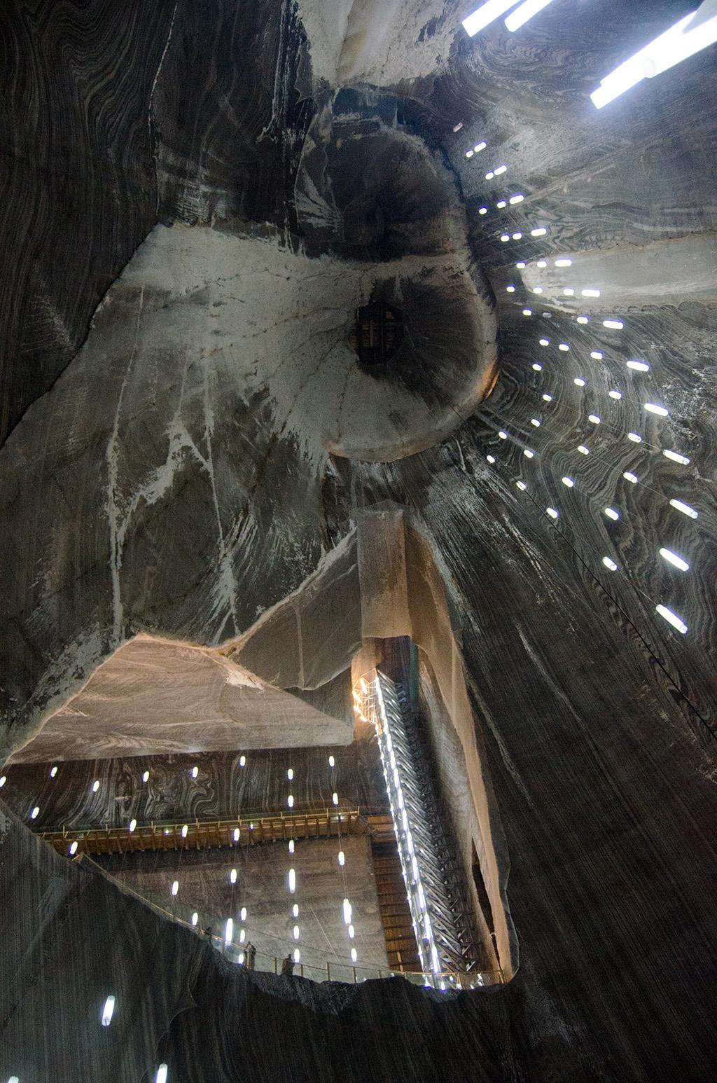 Turda Salt Mine - view from Mine Terezia