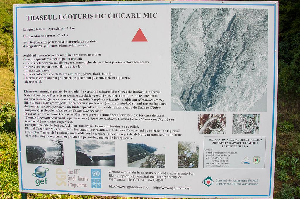 Traseul Ecoturistic Ciucaru Mic