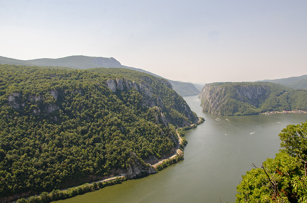 Danube's Cauldrons - 48 km west from Drobeta Turnu-Severin