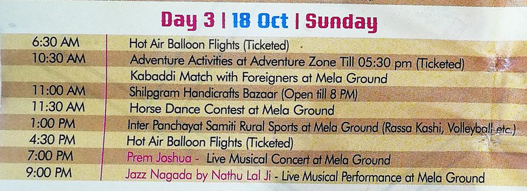 Pushkar Camel Fair - Festival Itinerary - Day 3
