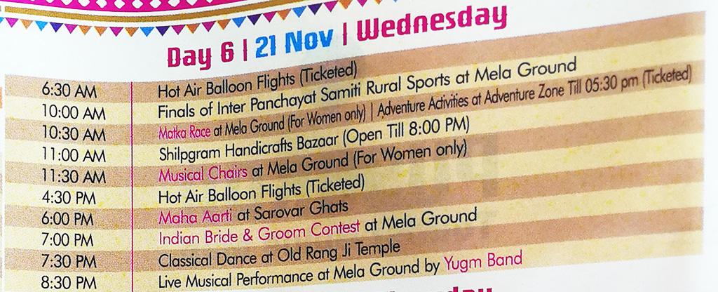 Pushkar Camel Fair - Festival Itinerary - Day 6
