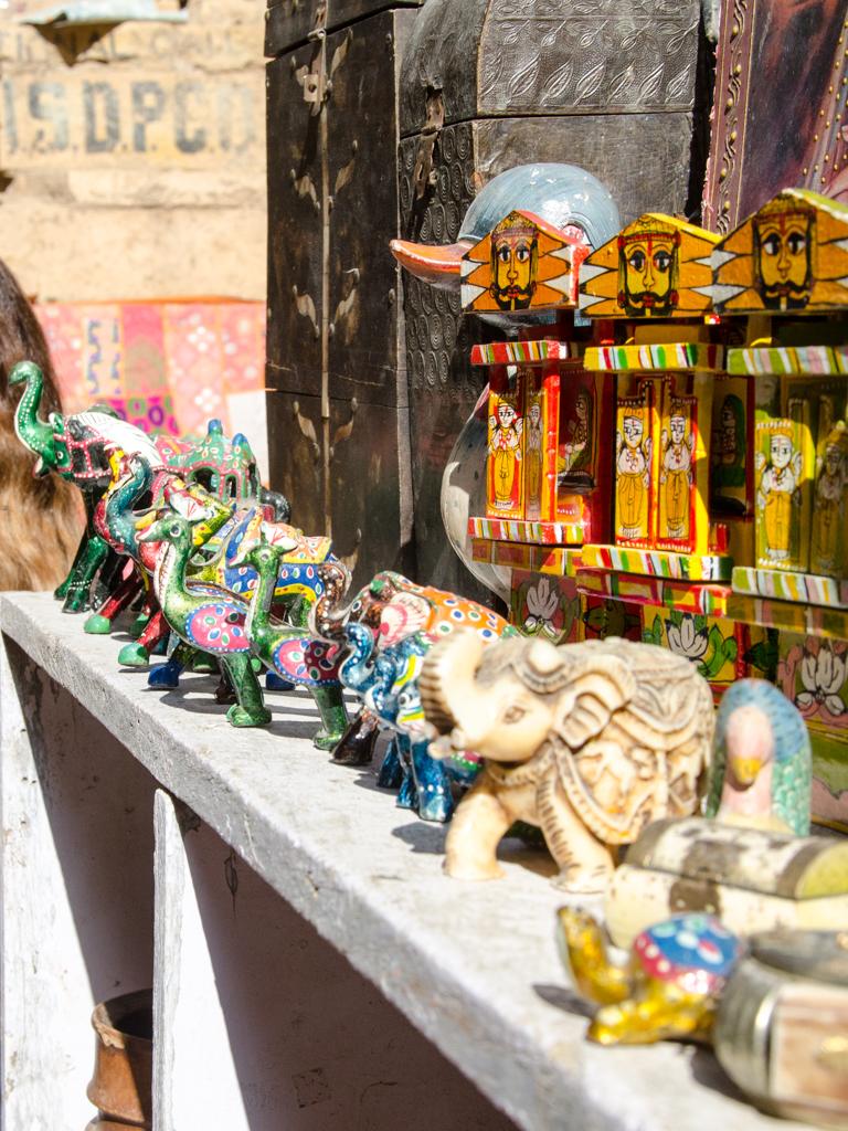 Souvenirs in Jaisalmer Fort