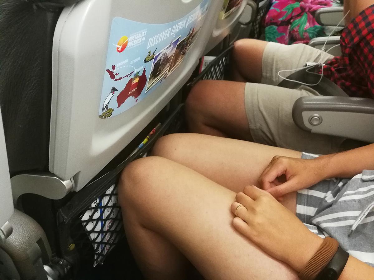 Jet Star A320 Leg Space