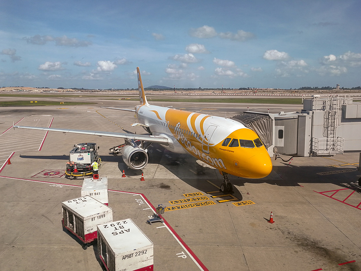 fly scoot a320