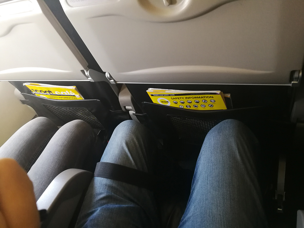 fly scoot a320 economy class