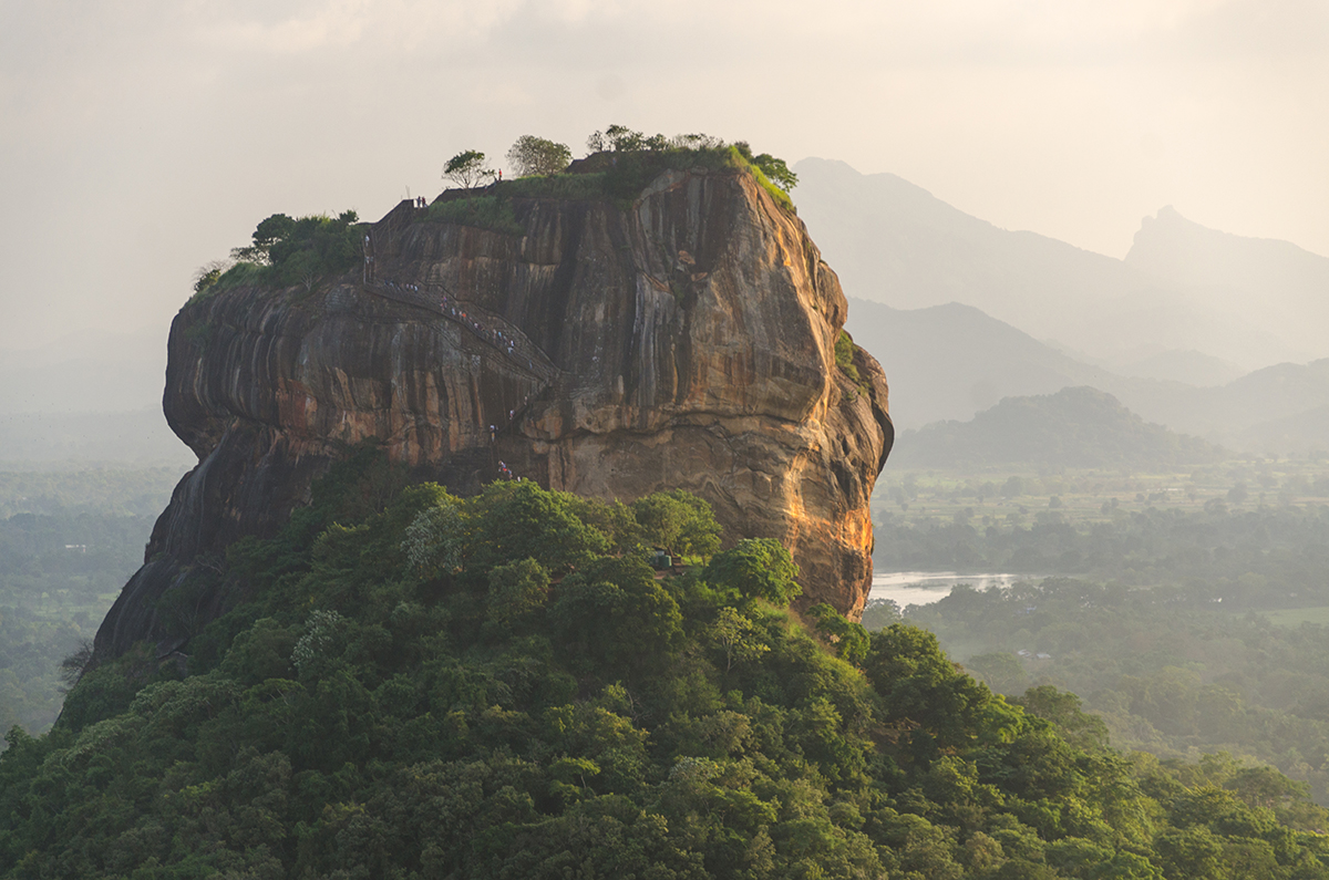 Sigiriya Rock - View from Pidurangala Rock
