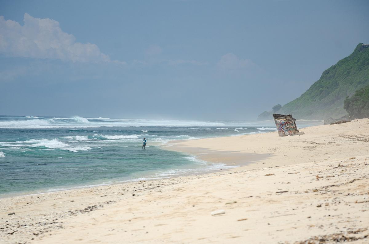 Nyang-Nyang Beach in South Bali