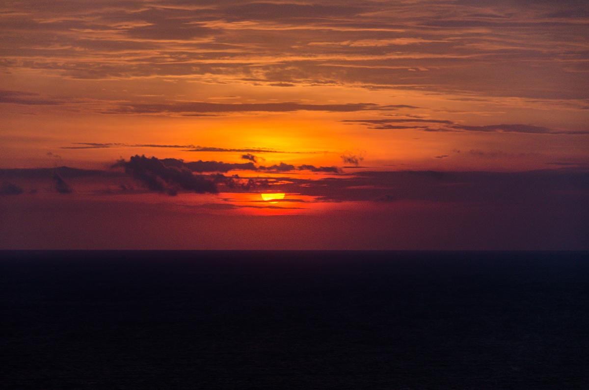 Sunset at Karang Boma Rock - Viewpoint
