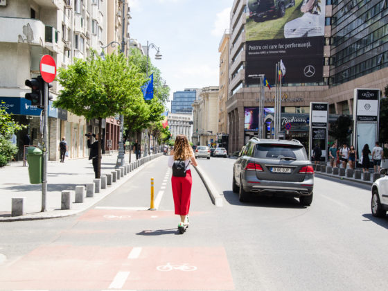 Lime Scooters in Bucharest