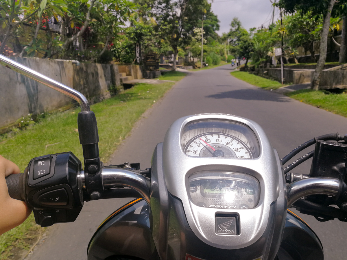 Transportation in Bali - Scooter