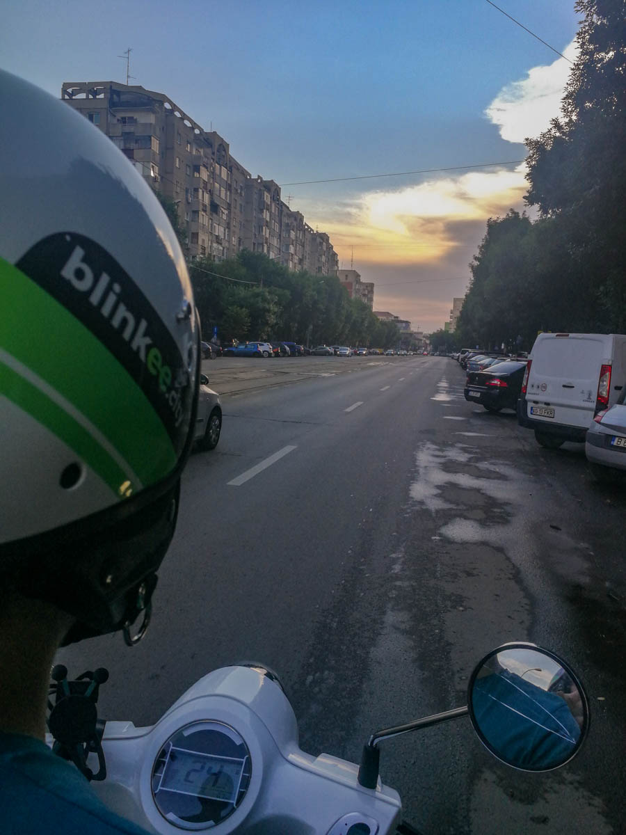 Blinkee Scooter in Bucharest