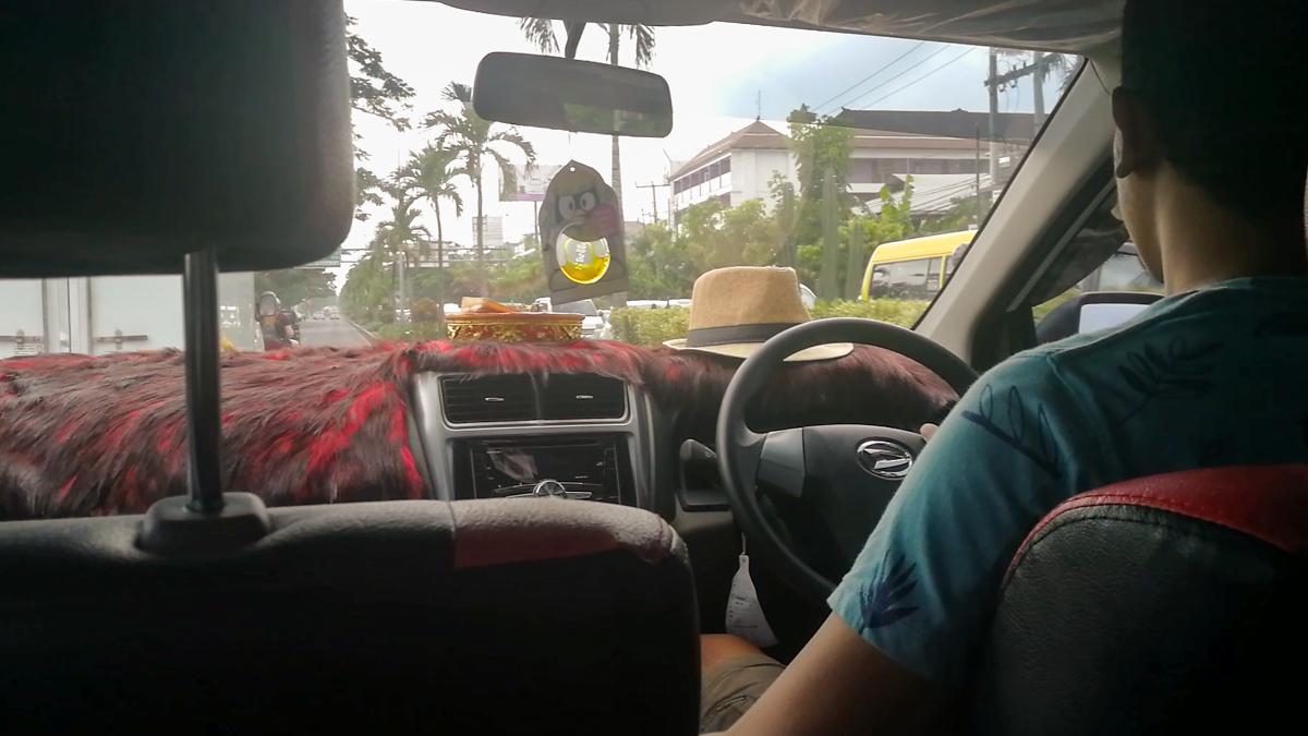 Transportation in Bali - Grab