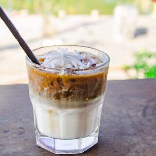Vietnamese Coconut Iced Coffee
