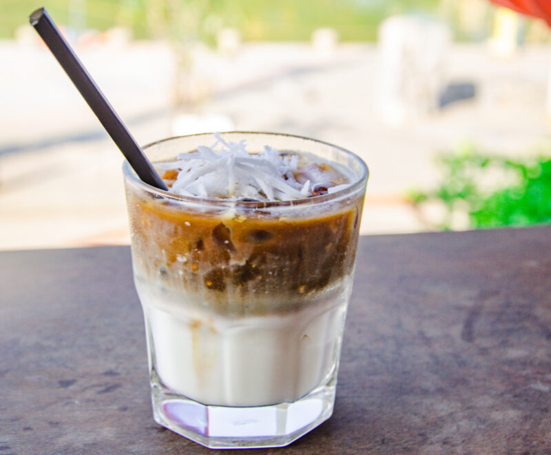 Vietnamese Coconut Iced Coffee