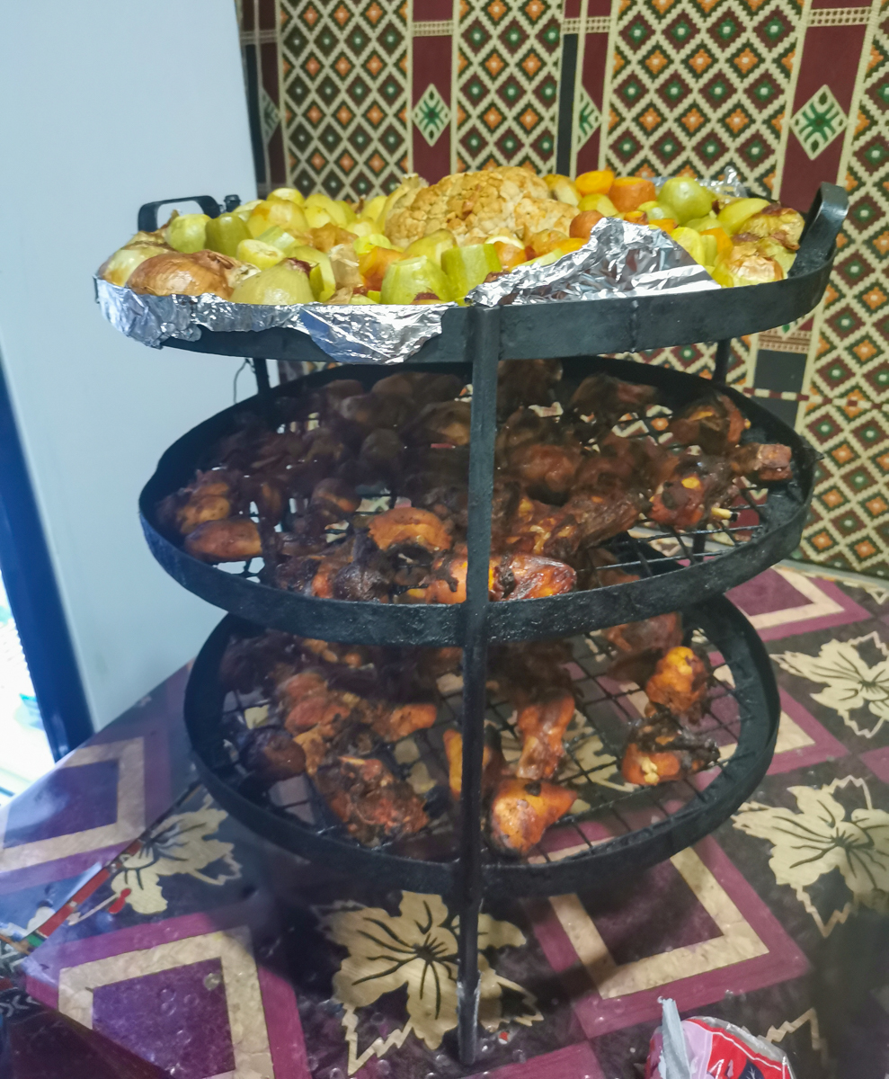 Zaarb - traditional bedouin food