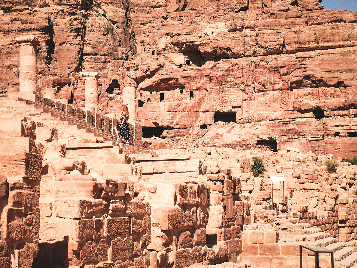 Petra Colonnated Street