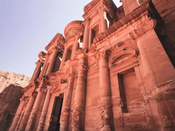 Petra Monastery close view
