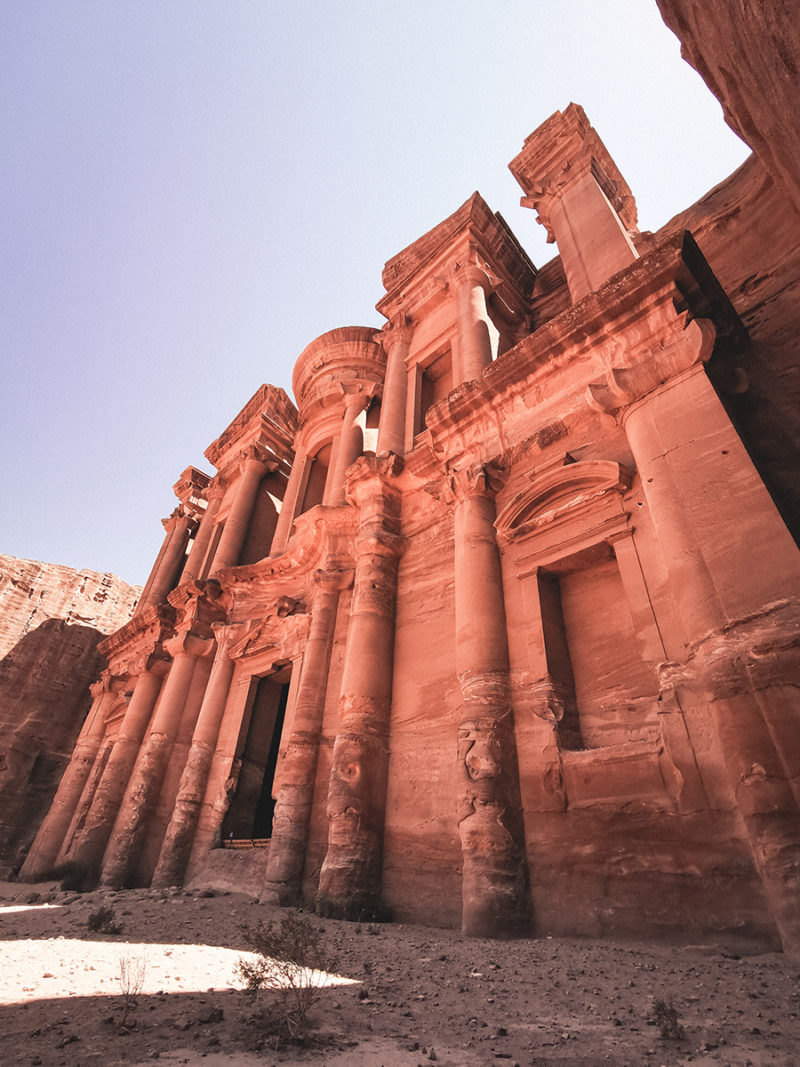 Petra Monastery close view