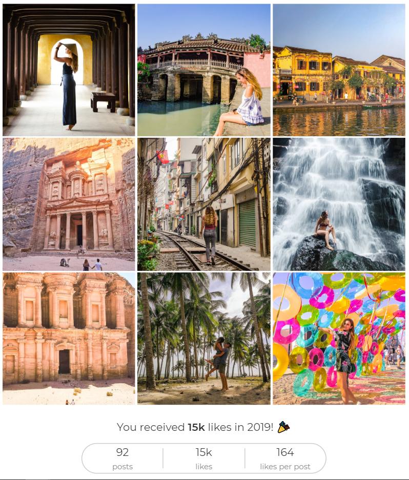 2019 Travels: Top 9 Photos on Instagram