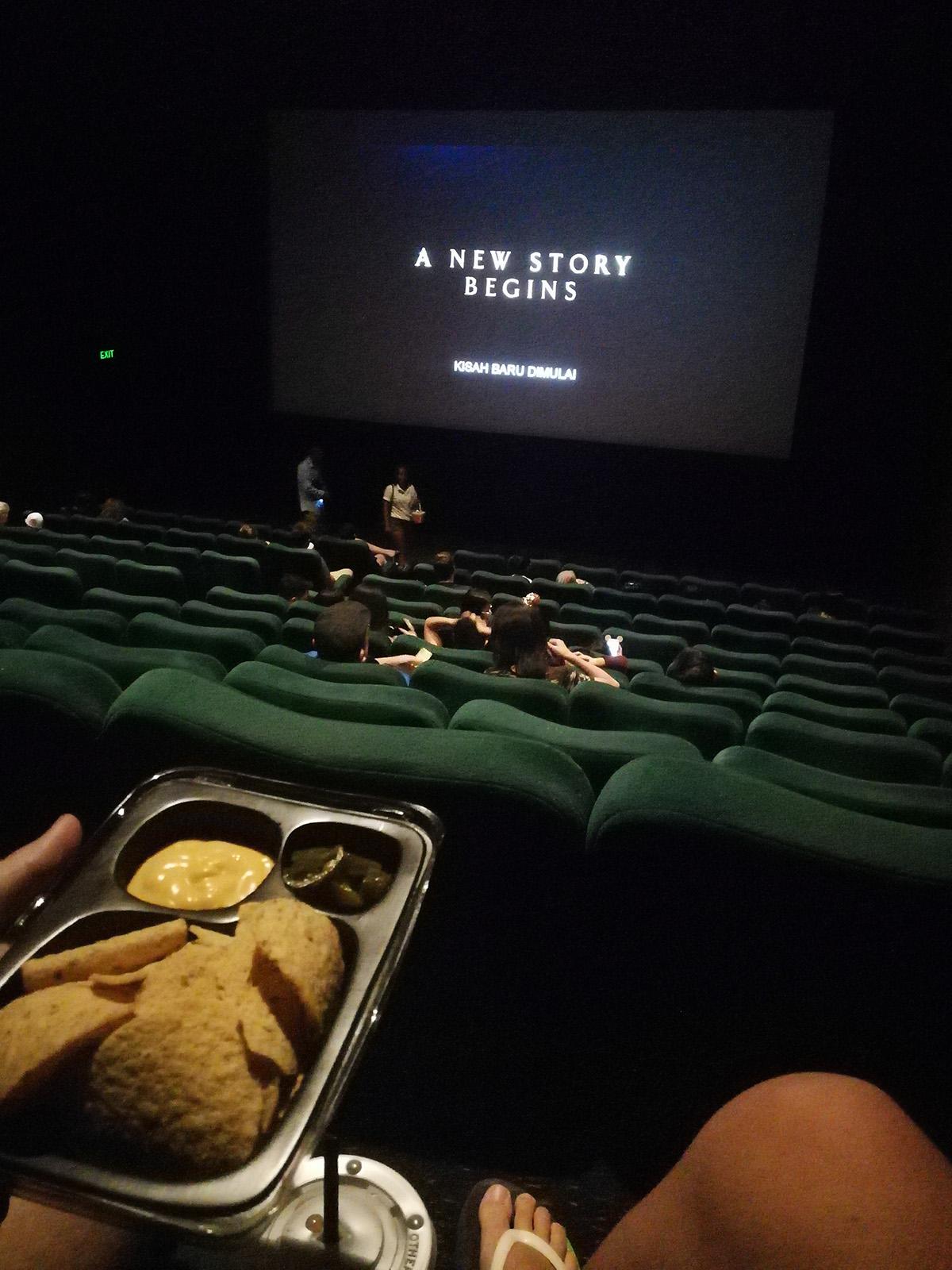 Would you go at cinema on Christmas day? - Bali