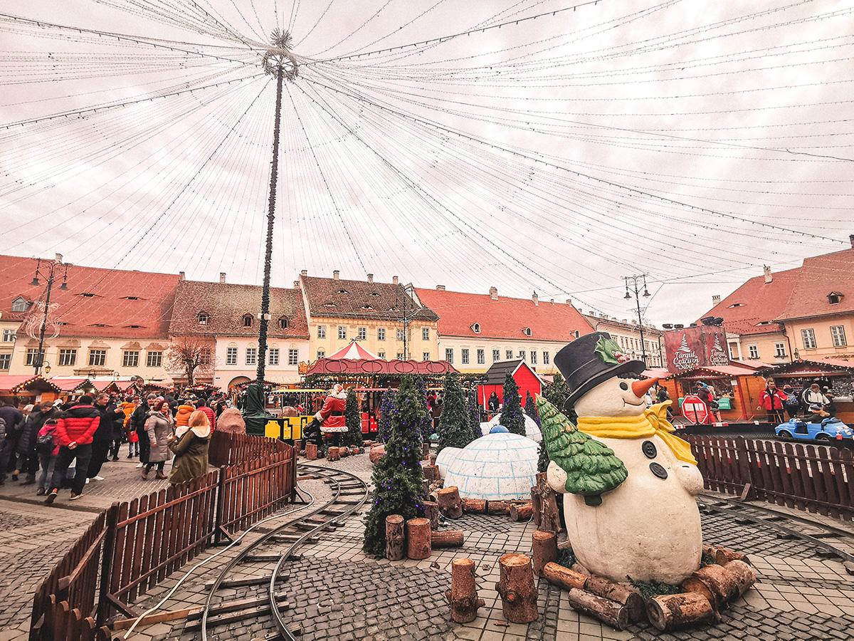 Targul de Craciun de la Sibiu