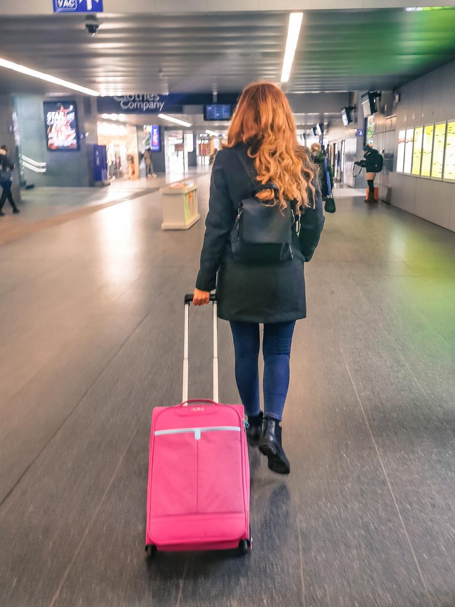 Hand luggage: Trolley