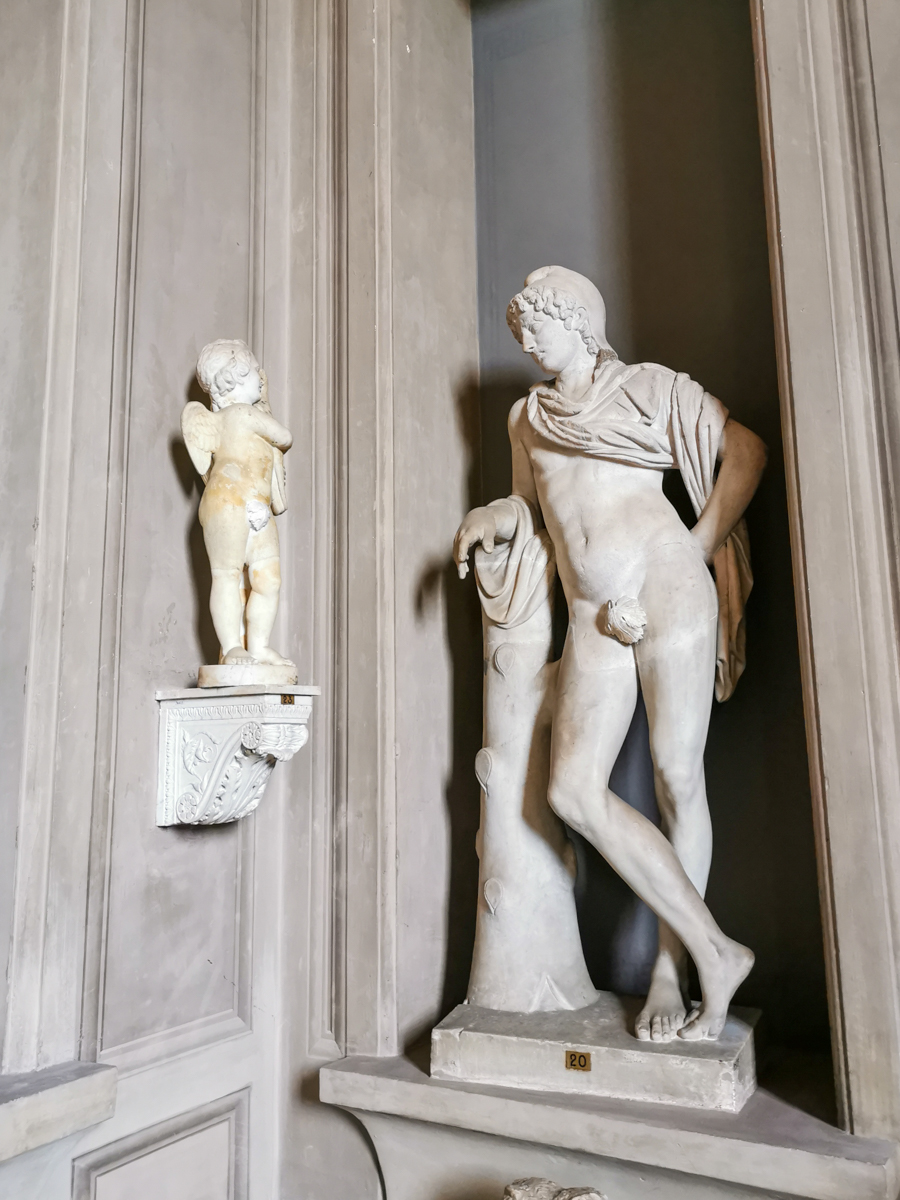 Statues in the Vatican Museums