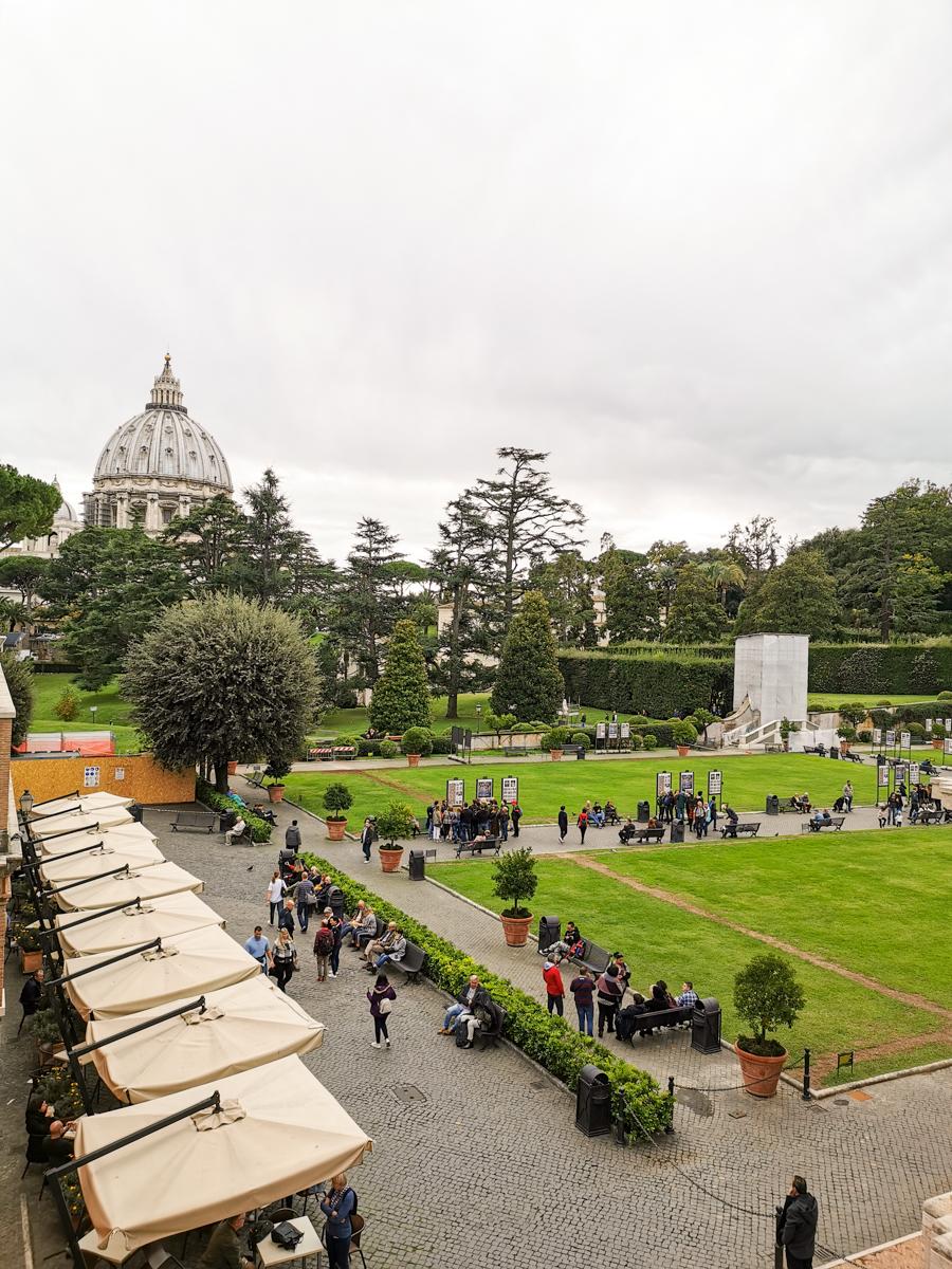 Vatican Museums Exterior