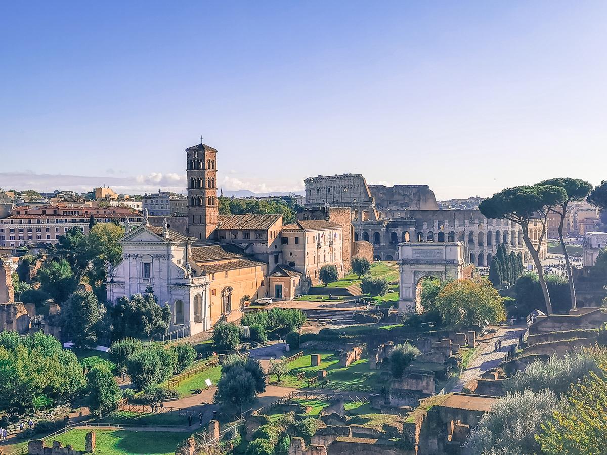 Roman Forum & Palatine Hill