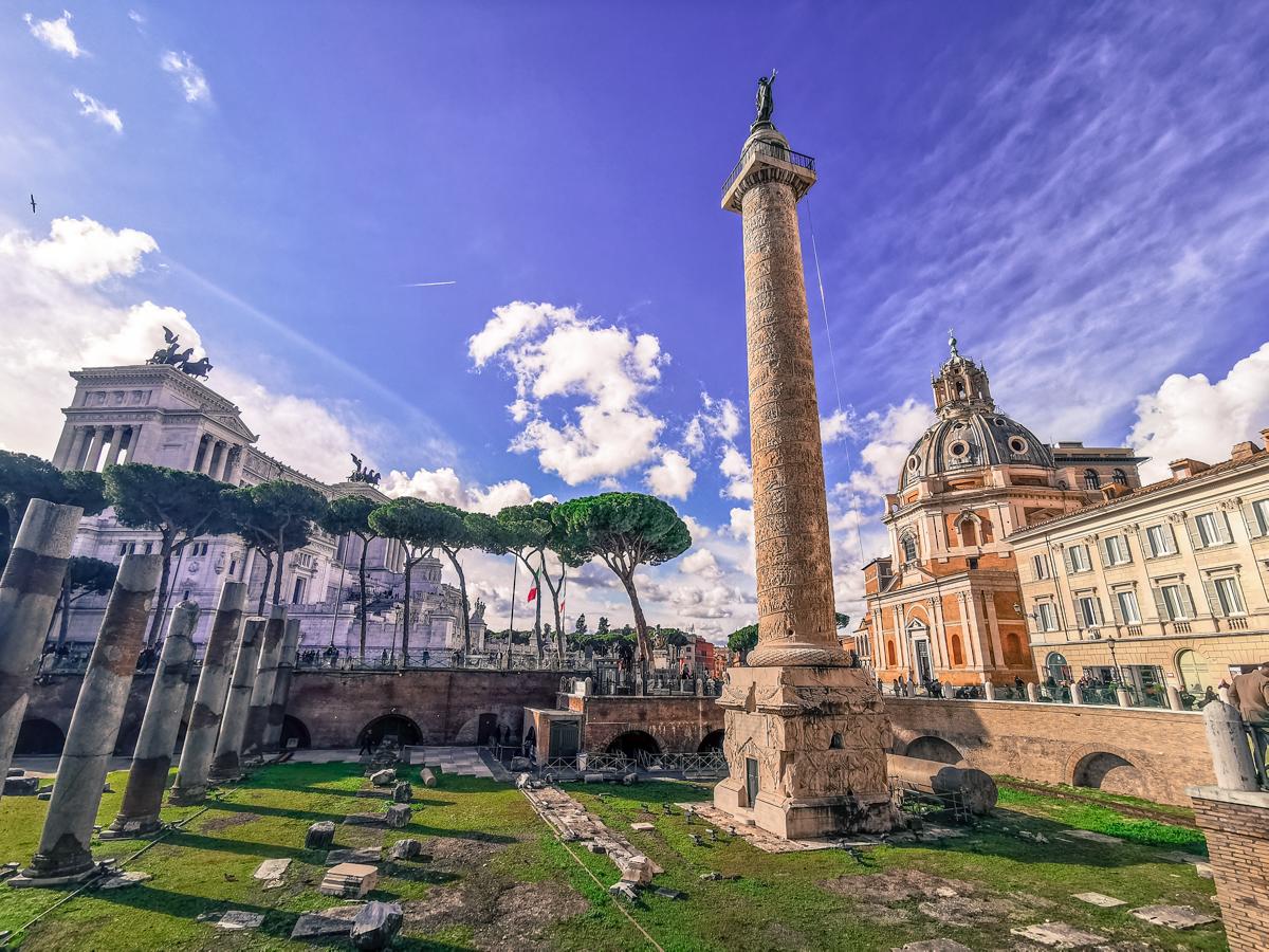 Trajan's Column & Piazza Venezia
