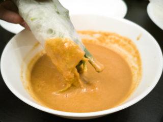 Peanut Butter Sauce for Vietnamese Rolls