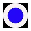 Marcaj turistic montan bulina albastra